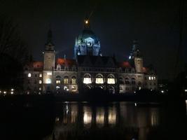 Hannover, Landeshauptstadt Niedersachsen, neues Rathaus